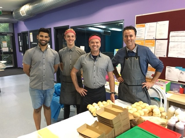 Matt and Brad and their team from Grill'd Camberwell.